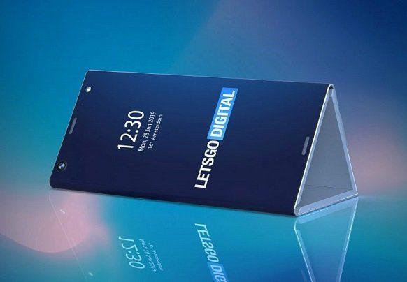 Гибкий смартфон Intel