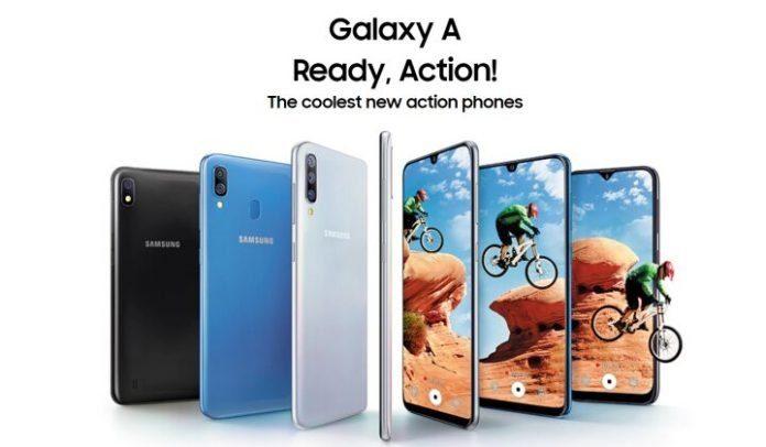 Samsung Galaxy A10, A20, A30