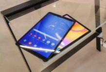 Galaxy Tab A 10 (сверху) и Galaxy Tab S5e