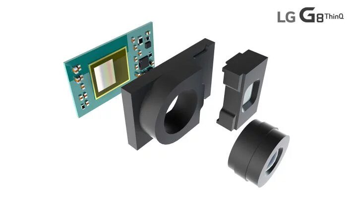 LG G8 ThinQ и ее ToF датчик