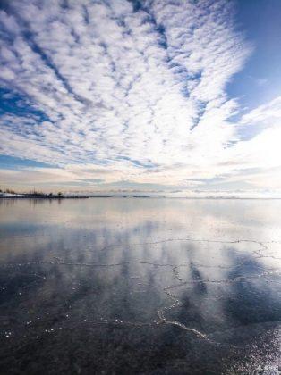 Красота неба и льда