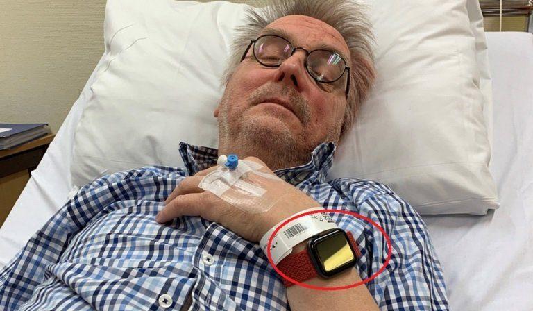Торалв Остванг в больнице