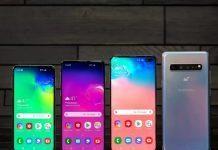 Вся линейка Samsung Galaxy S10