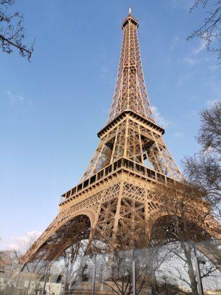 Ейфелевая башня на основной датчик