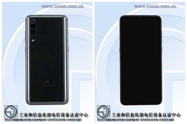 Xiaomi Mi 9 на сайте Tenaa
