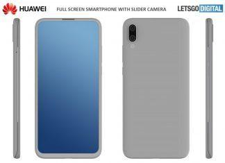 Изображение смартфона-слайдера от Huawei