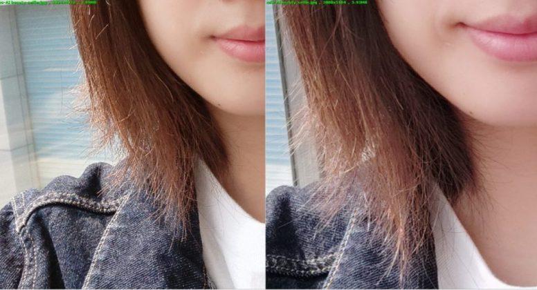 Сравнение селфи-снимков