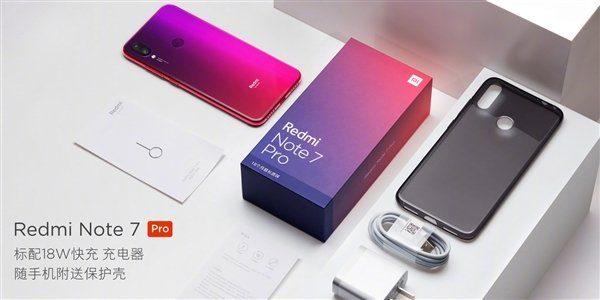 Комплектация Redmi Note 7 Pro