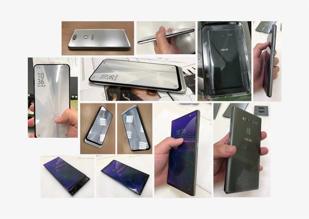 Варианты смартфонов до появления концептов