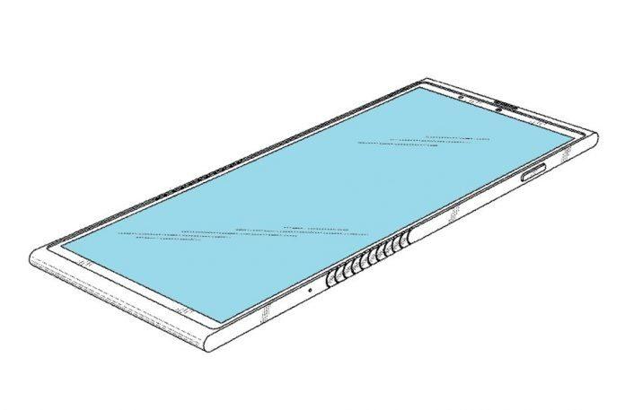 Дисплей складного смартфона Lenovo
