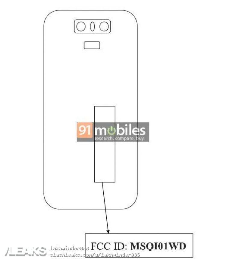 Задняя панель ASUS ZenFone 6Z