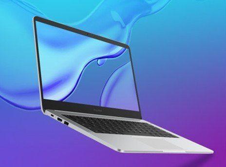 Боковая грань ноутбука