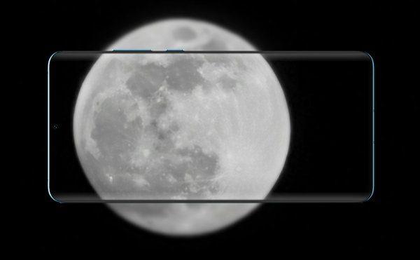 Как Huawei P30 Pro снимает луну в реальности