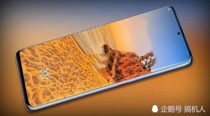 Huawei Mate 30 Pro - фронтальная панель