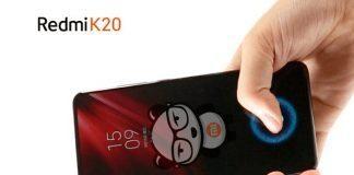 Redmi K20 с встроенным сканером отпечатков пальцев 7-го поколения