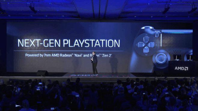 Процессор и карта в Sony PlayStation 5