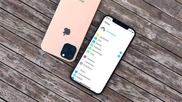 iPhone 11 в золотом цвете