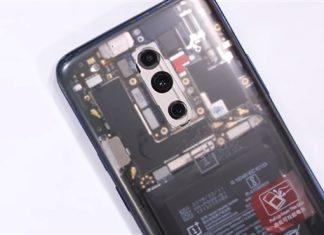 OnePlus 7 Pro с прозрачной задней панелью