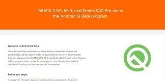 Redmi K20 Pro получил возможность обновления до Android Q