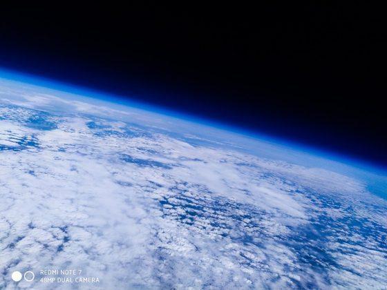 Земля сквозь облака
