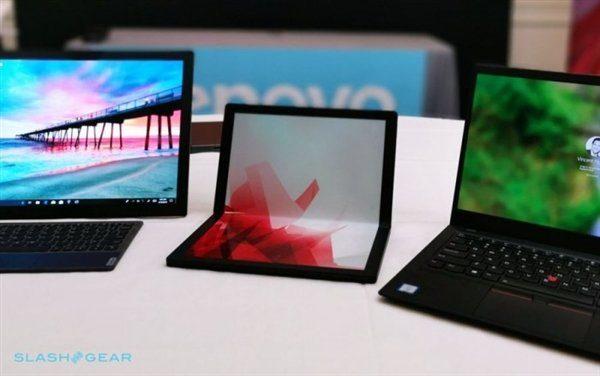 Ноутбук можно поставить на одну из сторон и согнуть дисплей