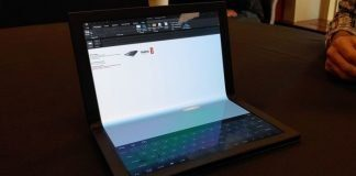 Прототип складного Lenovo Thinkpad X1