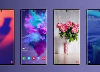 Рендер Samsung Galaxy Note 10 Pro предоставленный Ice universe