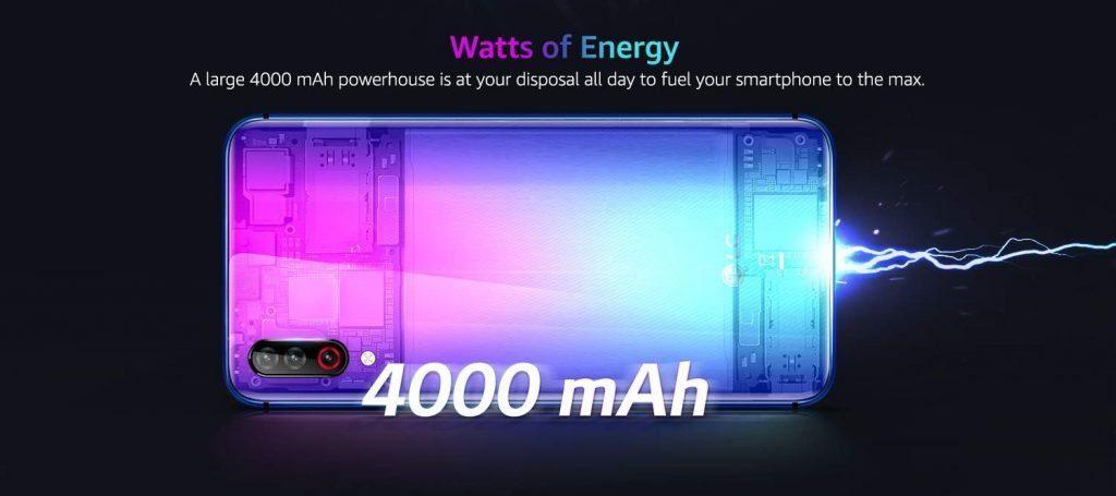 Батарея на 4000 мАч