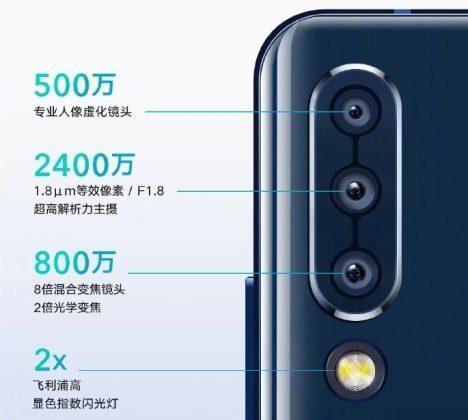 Особенности камер Lenovo Z6