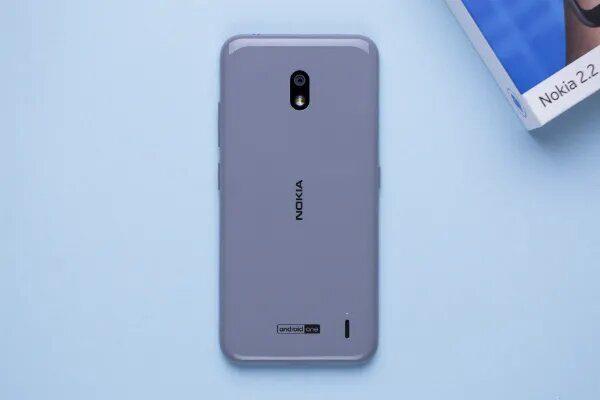Nokia 2.2 - задняя панель
