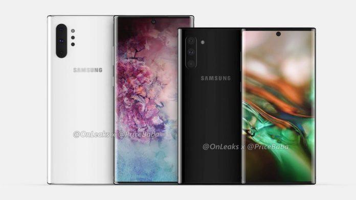 Samsung Galaxy Note 10 Pro и Galaxy Note 10