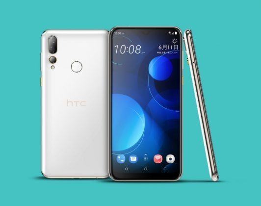 HTC Despire U19 Plus в белом цвете