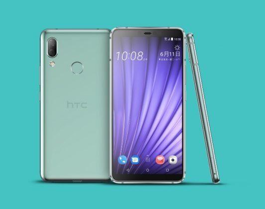 HTC U19e в зеленом цвете