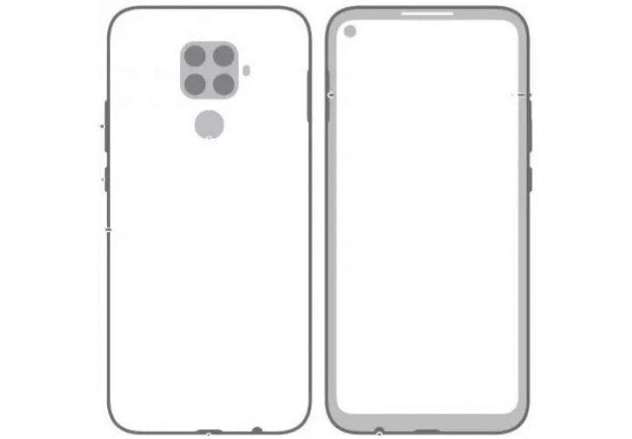 Предполагаемый дизайн Huawei Mate 30 Lite