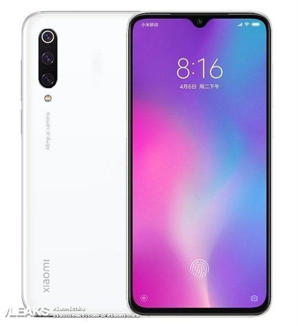 Xiaomi Mi CC 9 - рендер