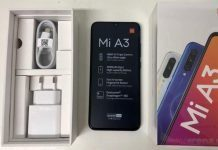 Xiaomi Mi A3 - распаковка