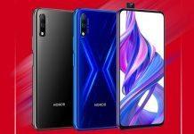 Honor 9x - продажи