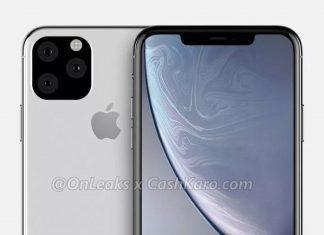 Рендер iPhone XI Max от OnLeaks