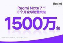 Redmi Note 7 - продажи