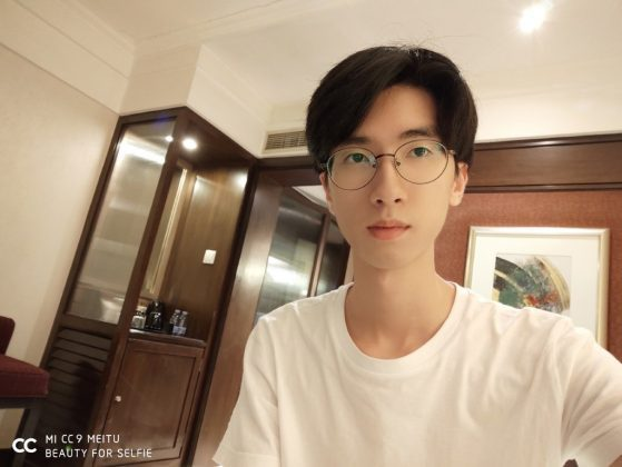 Пример снимка с Xiaomi Mi CC9 Meitu