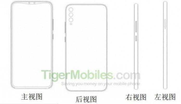 Второй патент - потенциальный Xiaomi Mi Mix 4