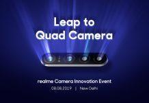 Realme первой представит смартфон с 64 Мп камерой