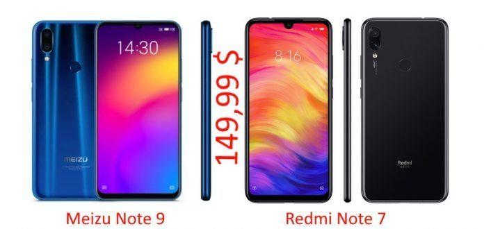 Meziu Note 9 или Redmi Note 7