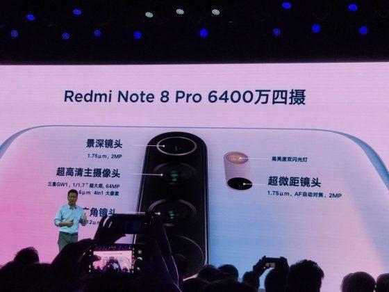 Параметры основной камеры 8 Pro