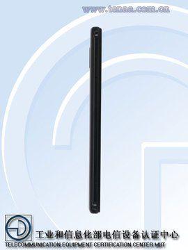 Новый смартфон Redmi - вид сбоку