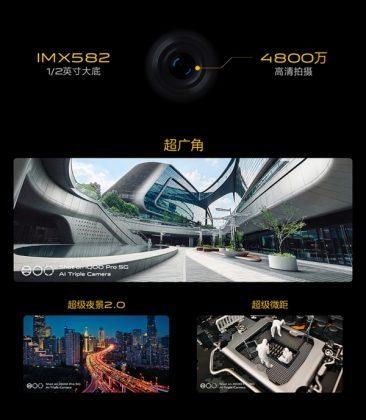Особенности основной камеры