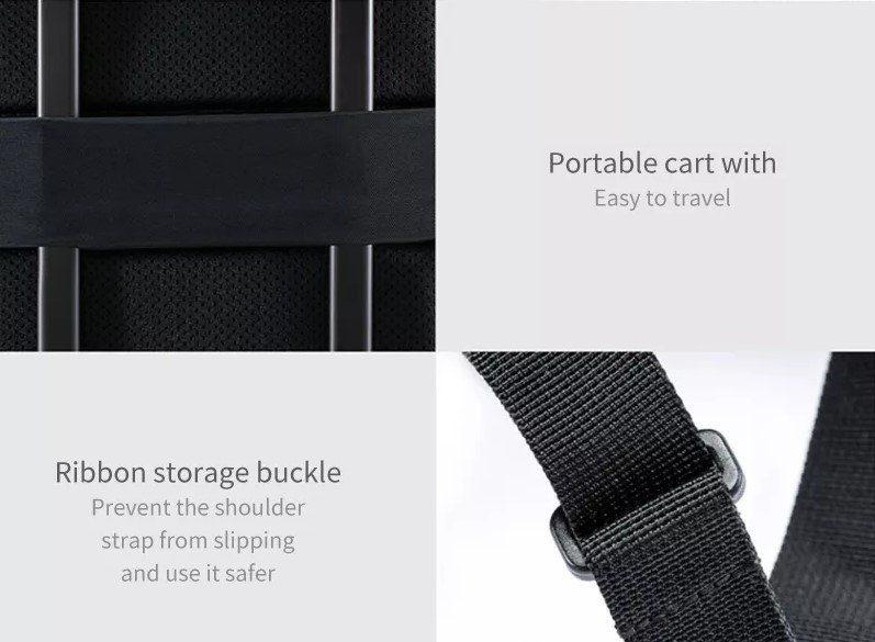 Механизм для крепления к чемодану