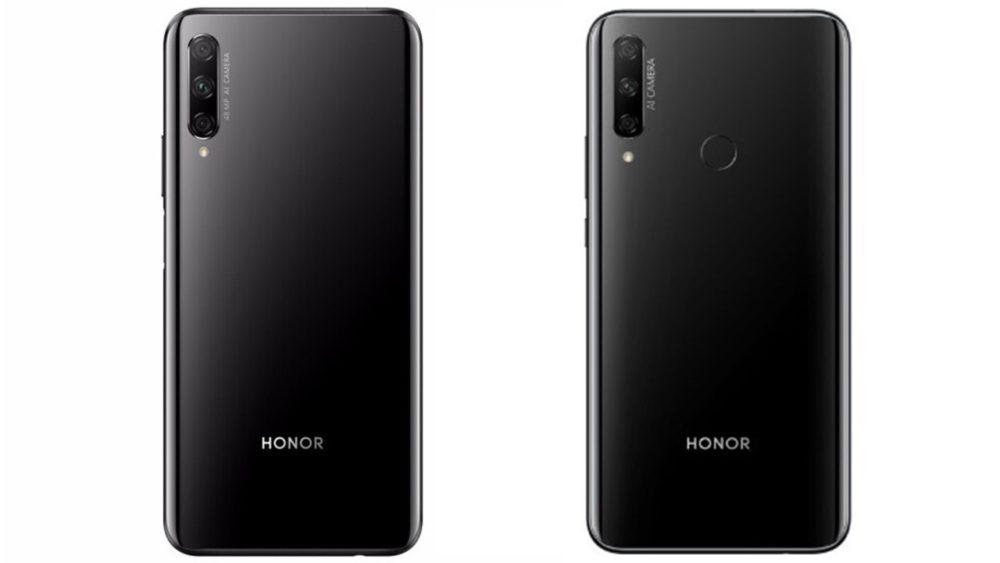 Honor 9X - глобальная (слева) и китайская версия