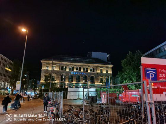Примеры ночных снимков сделанных при помощи Mate 30 Pro