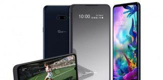 LG G8X ThinQ и аксессуар к нему